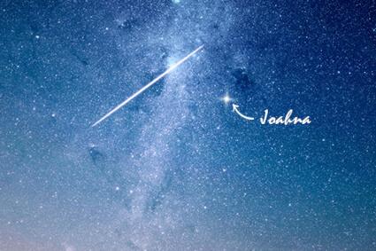 Star Named in the sky
