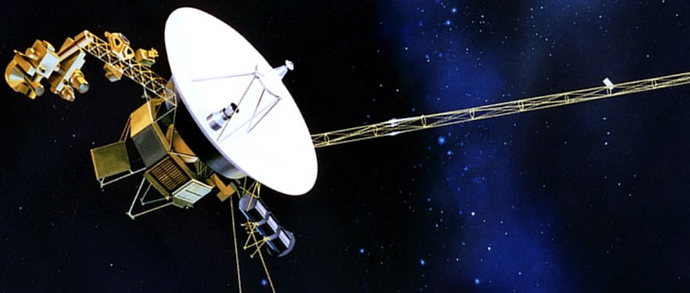 The Voyager 1: To infinity and Beyond?